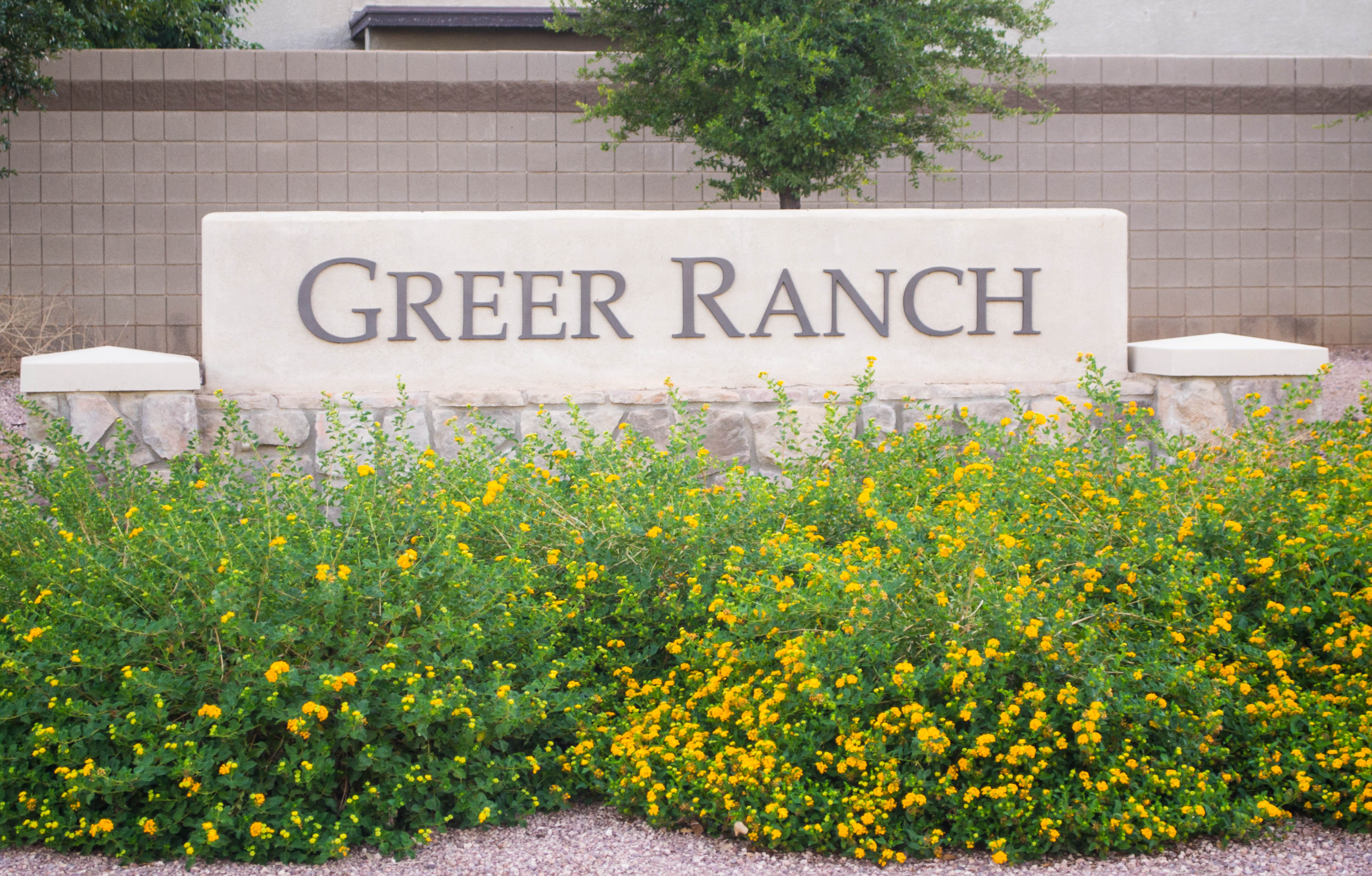 <!DOCTYPE html> <html> <head> <style> p {text-align:center;} </style> </head> <body>  <p>Greer Ranch
