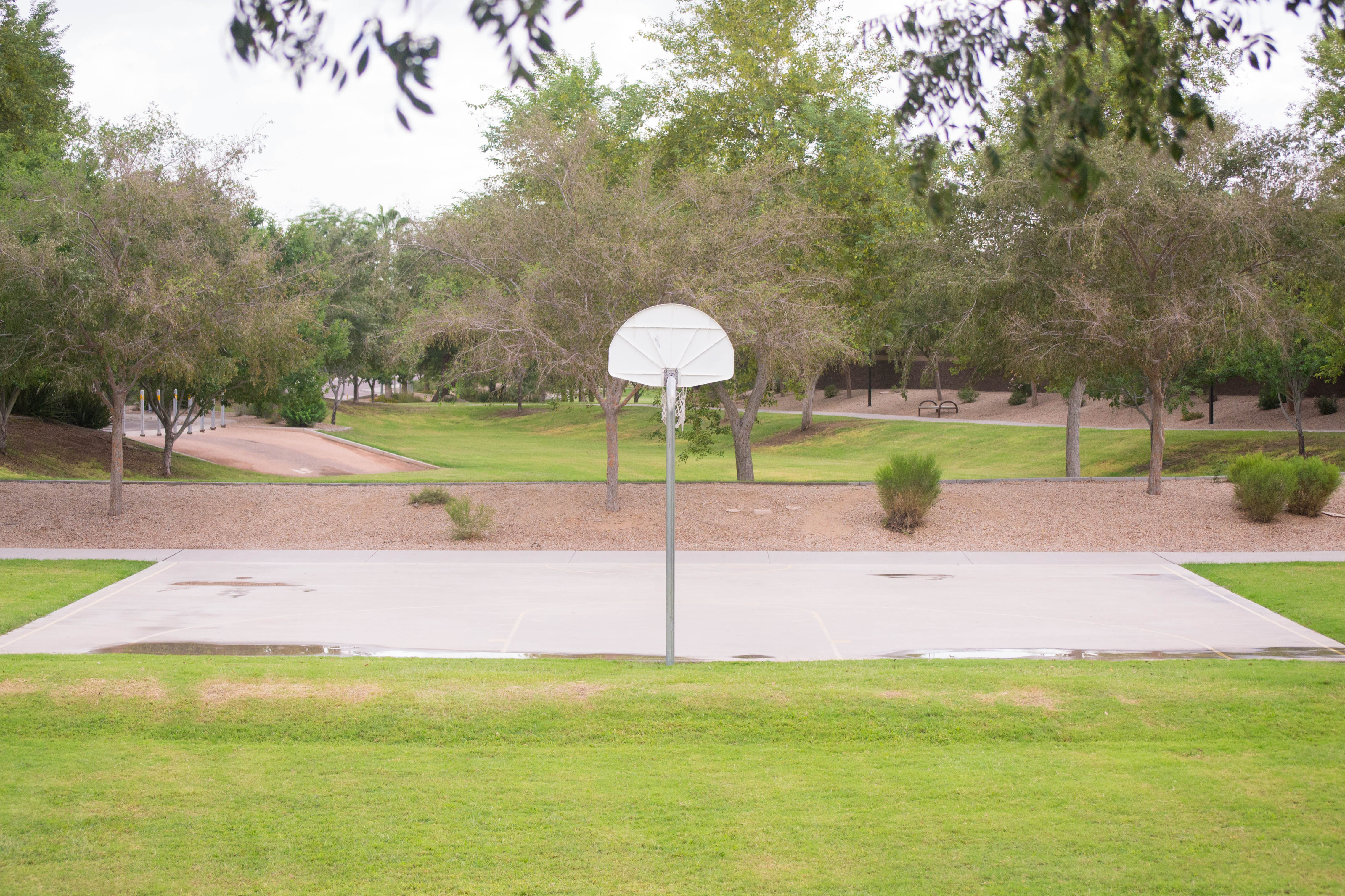 Basketball Court and Park